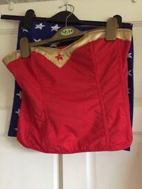Anne summers Wonder Woman costume