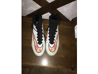 White Nike Superfly's UK Size 9.5