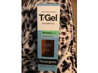 Neutrogena T/Gel shampoo - greasy hair - Brand New never opened