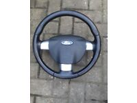 Ford Focus 2006 Airbag and steering wheel