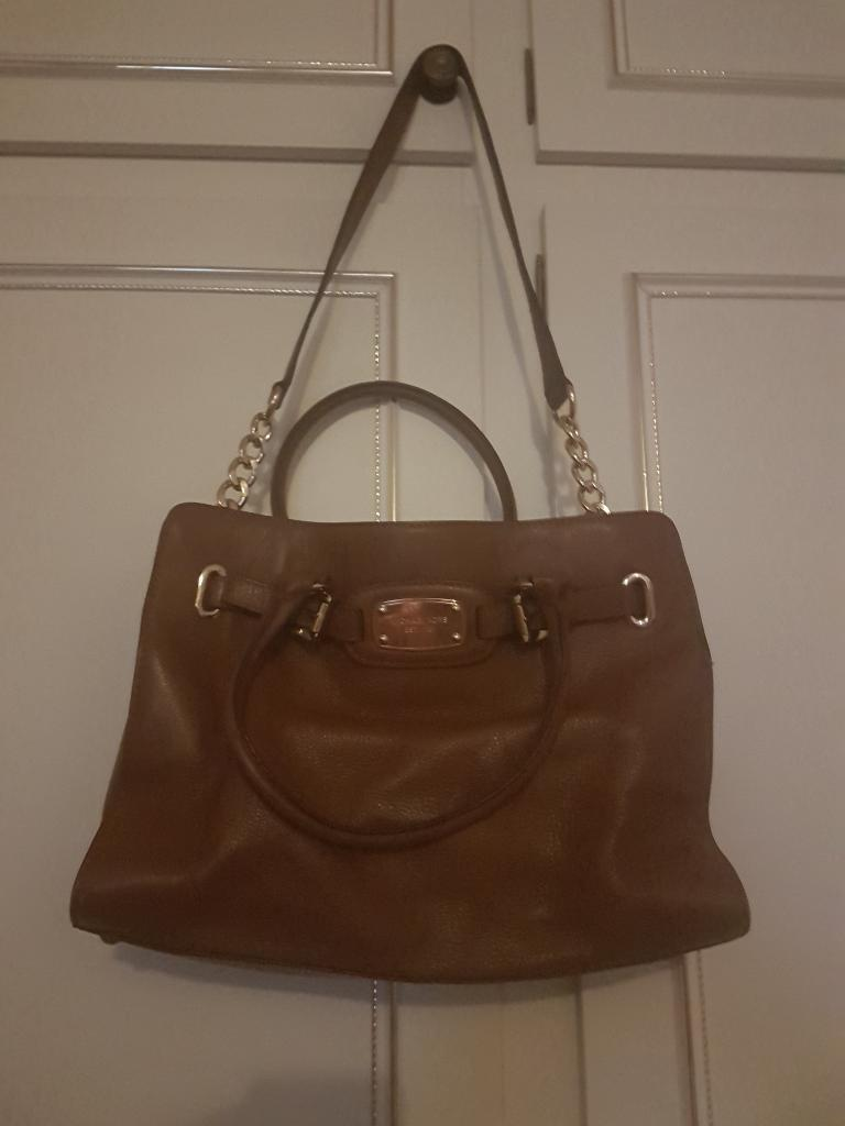 100 per cent genuine Michael kors leather bag