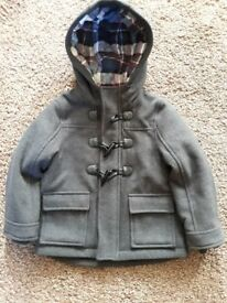 Boys Duffle Coat ( never been worn ) age 18 months to 24 months