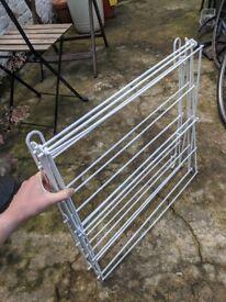 Clothes drier airer rack foldable