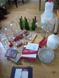 Wine making kit containing equipment required to get you started and making up to 36 bottles of wine