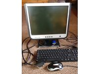 Computer monitor and accessories
