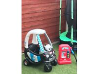 Little tikes car and fuel pump