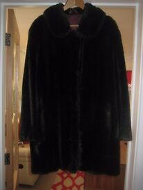 Ladies Fur faux Jacket .