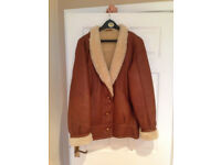 Ladies leather and sheepskin jacket