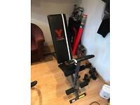 York fitness adjustable bench