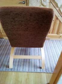 2 x chair