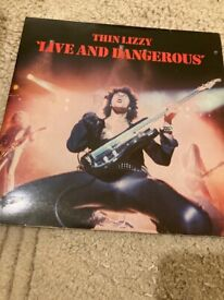 Thin Lizzy Live and Dangerous vinyl