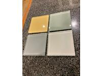 Coloured Glass Wall Tiles