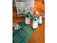 Angel care monitor, sensor pad and two receivers