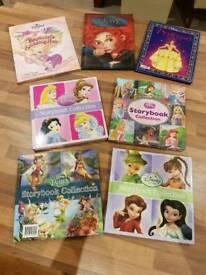 Disney Princess and Fairies 7 Large Books