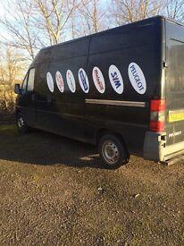 Peugeot boxer van for sale . Good desel van not till auguest.