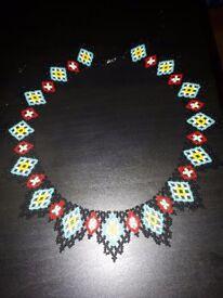 Handmade Seed beaded Necklace