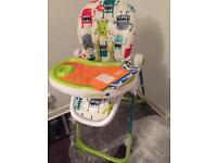 BRAND NEW Cosatto Noodle Supa Highchair - Monster Mash 2