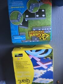 2 X OUTSIDE LAWN GAMES - BRAND NEW STILL IN BOXES