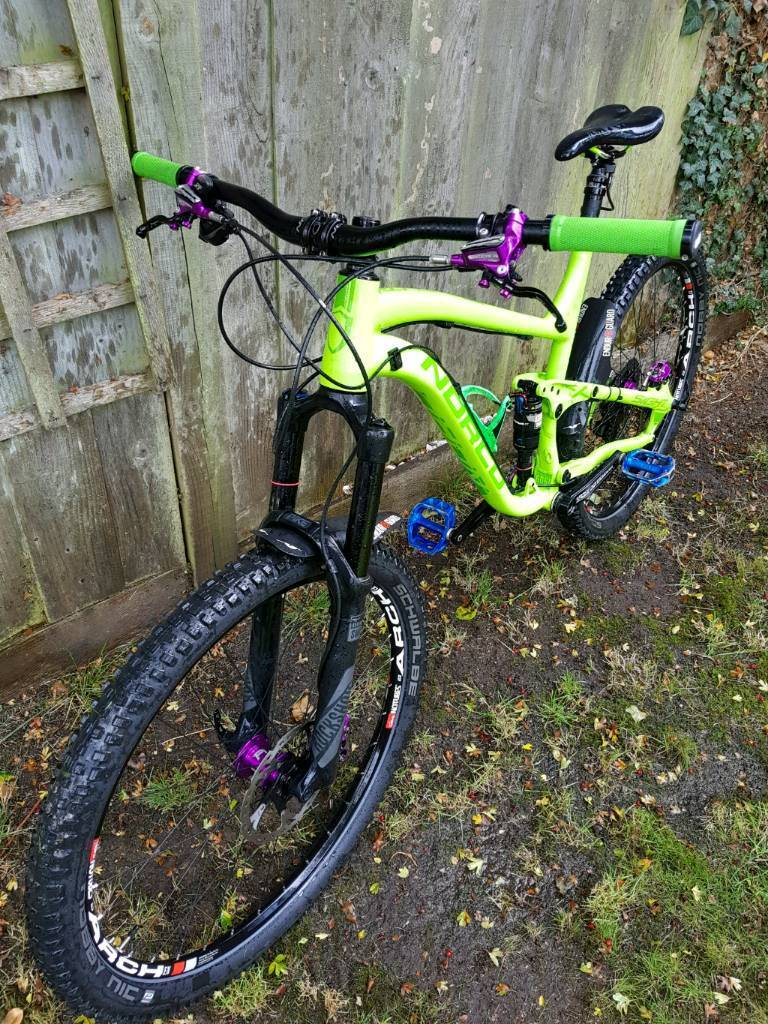 Norco Sight A7.1 full suspension mountain bike (Hope. Shimano. Raceface. Rockshox. Reverb. Stans.)