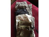 Women's Walking Trousers 4 pairs Lowe Alpine, Rohan and North Face