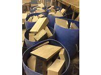 Firewood For Sale | Air Dried Oak | Kiln Dried Oak | Oak Offcuts | Woodfuel | Immediate Collection