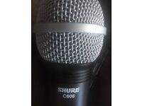 Sure C606 mic