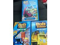 3 bob the builder dvds