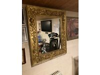 Large french style vintage mirror