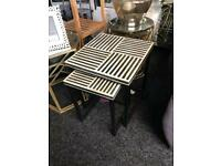 New retro style nest of tables £49 from Dukes furnishings