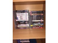 PS3 with 3 controllers and loads of games