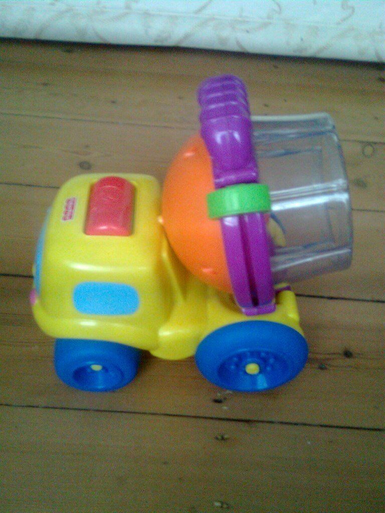 Fisher-Price Spin & Spill Cement Truck, from 6 months