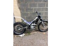 Trials bike