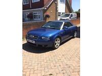 Audi A4 Convertible 2002 NEW MOT