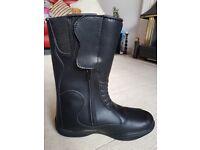 Richa Waterproof Imola Motorcycle Motorbike Leather Boots 41 BNIB