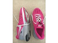 women's pink nike lunarglide 6 running shoes uk 5