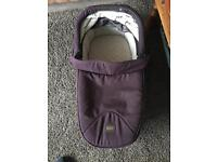 Carrycot for armadillo flip xt BRAND new never used