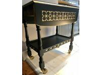 Gorgeous hostess/drinks trolley