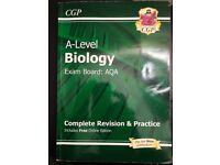 Near new A-Level Biology: AQA Year 1 & 2 Complete Revision & Practice with Online Edition Paperback
