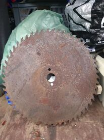 2 Saw Blades, Recently Sharpened - £15 Each