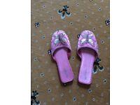Free Ladies slippers Size 7