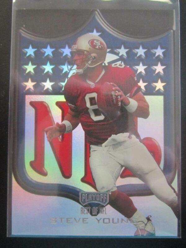 S-L Nike Steve Young San Francisco 49ers Home Red Jersey Boys