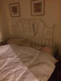 Victorian style bed from IKEA £50 collection only