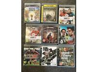 ps3 games- 9 different games