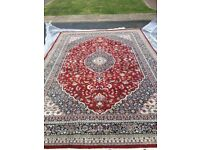 CHAKHARI traditional Indo-Persian rug.