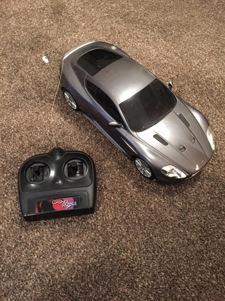 James Bond remote control Car