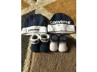 Converse baby set 0-3 months