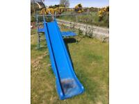 TP Activity Toys slide and swing frame