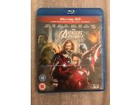 Avengers Assemble Bluray DVD