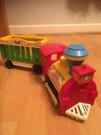 Vintage 1970's Fisher Price Circus Train