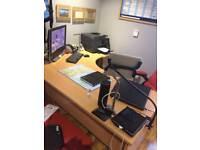 Office Desk & Pedestal